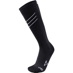 UYN Ski Race Shape Calcetines Hombre, black/white